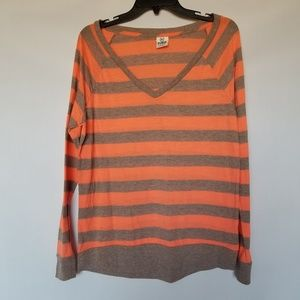 Victoria's secret Pink long sleevstriped tee